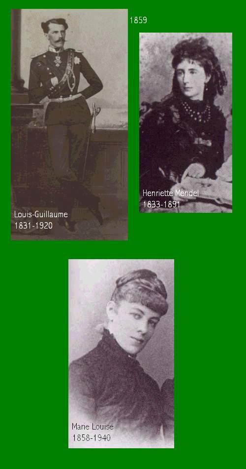 1. Famille de Louis Guillaume