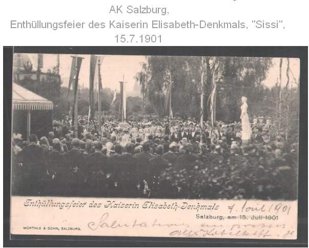 Inauguration Salzbourg 1901 1