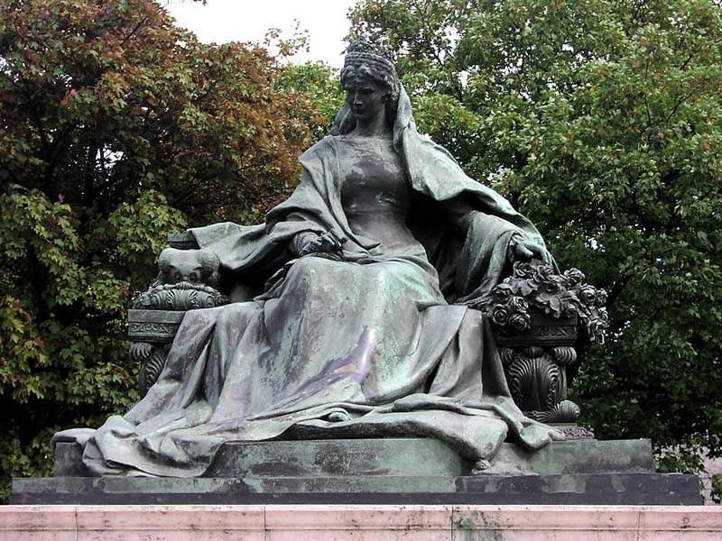 Inauguration Square Oath 1932 La Statue Aujourd'hui