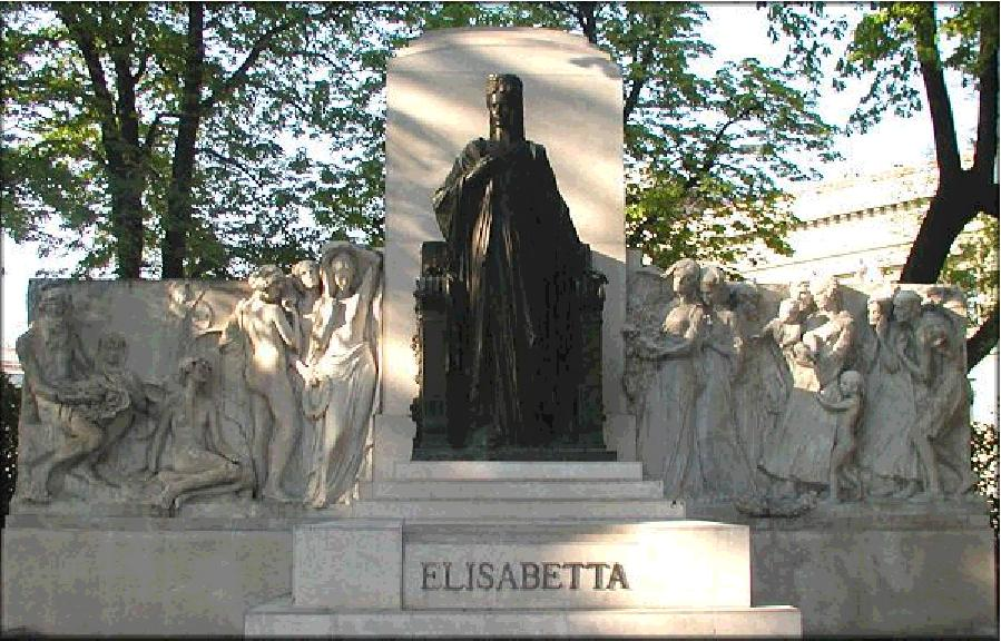 Inauguration Trieste 1912 La Statue Aujourd'hui 01