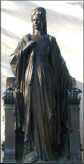 Inauguration Trieste 1912 La Statue Aujourd'hui 02
