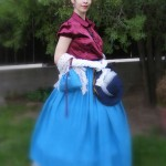 Victorian day dress - My production (2)
