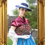 Victorian day dress - My production (3)