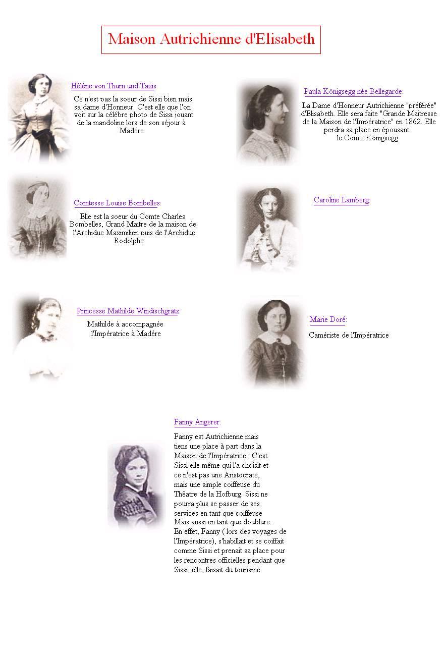 Dames d'Honneur Autriche