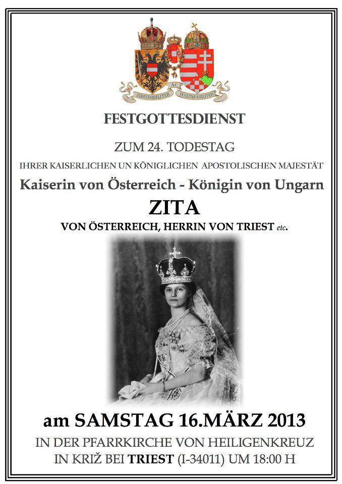 Messe Zita