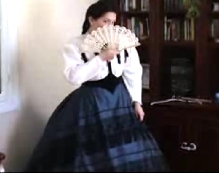 Robe Sissi 1860