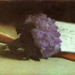 Manet, Bouquet de violettes 1872