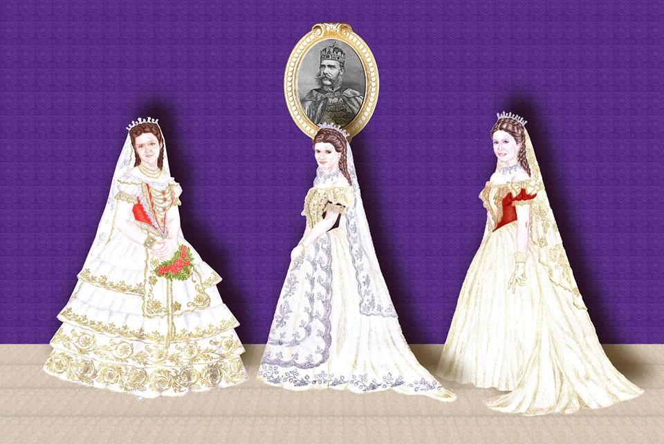 Reine de Hongrie - Ensemble décor