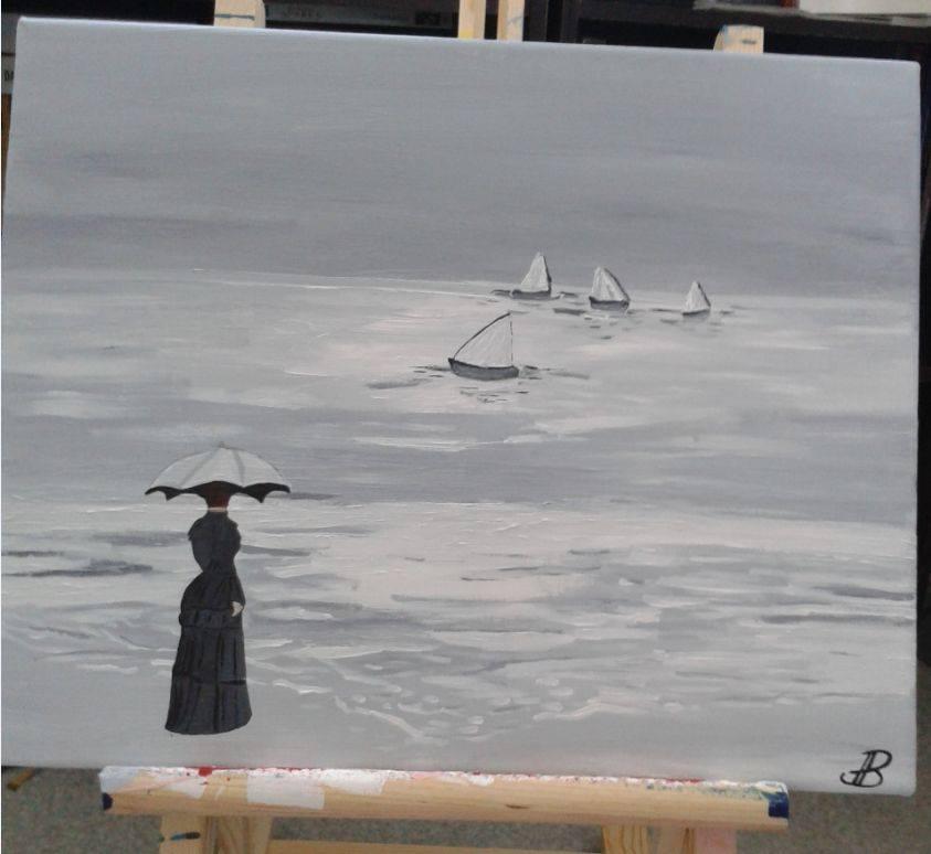 Peinture Priscillia