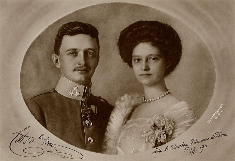 Charles et Zita