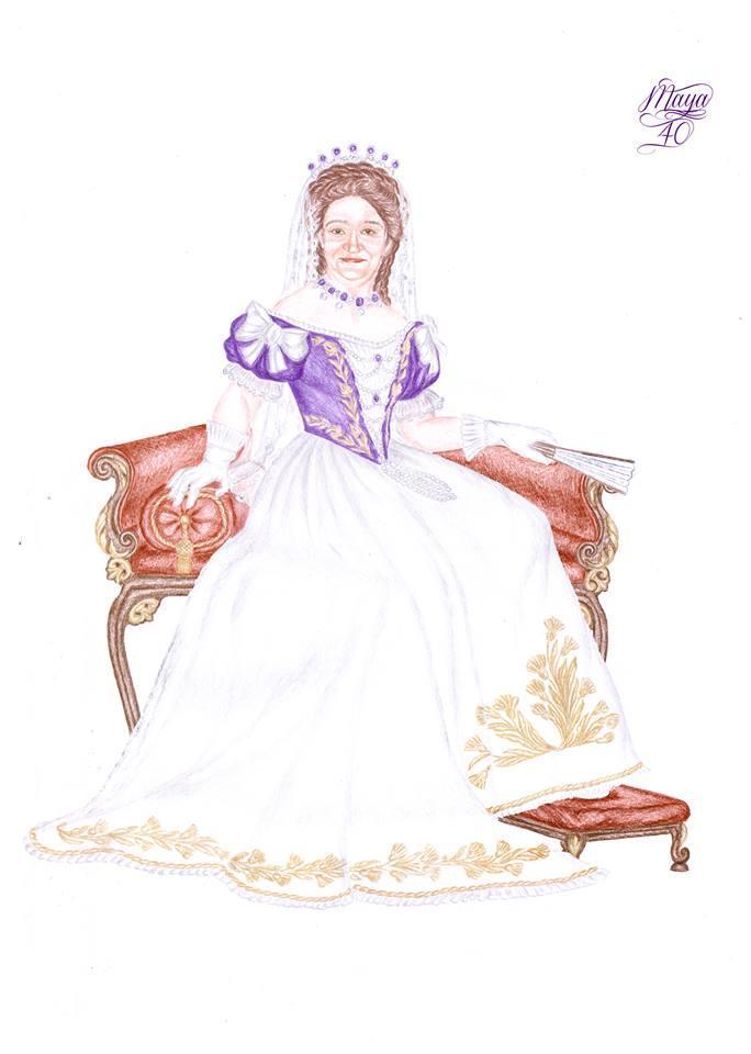 Moi - Reine de Hongrie - Dessin Final 05 copie