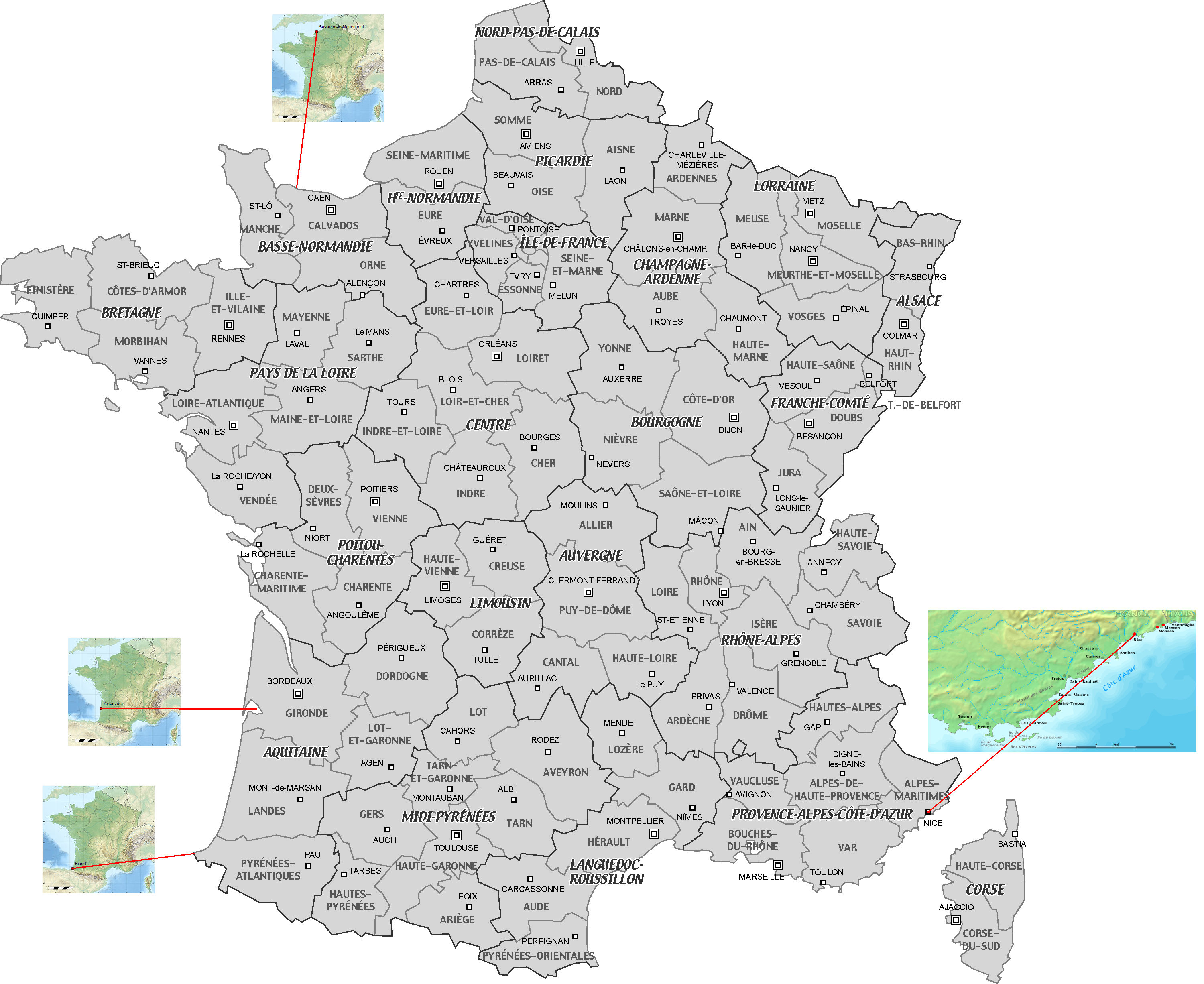 Carte de France copie