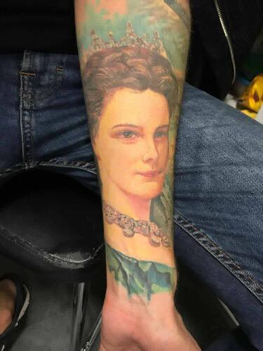 tatouage Sissi